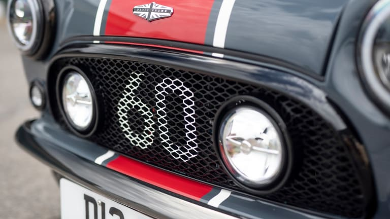 David Brown Automotive Reveals Performance Version of the Mini Remastered