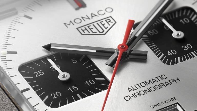The TAG Heuer Monaco Gets a Titanium Remix
