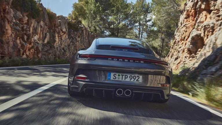 Wingless Wonder: Porsche Tones Things Down with the All-New 911 GT3 Touring