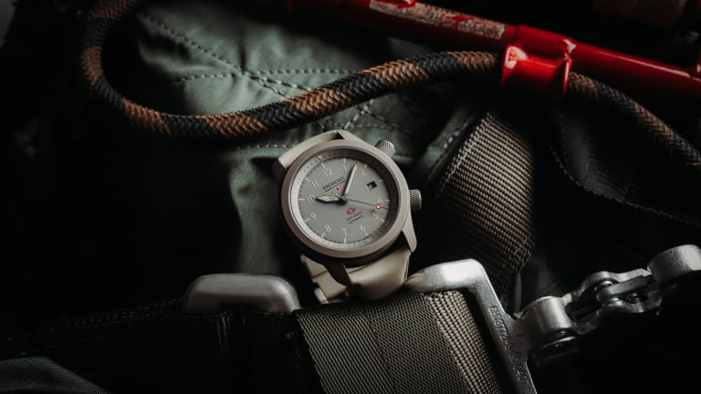 The Bremont MB Gets Remixed in Grade 5 Titanium