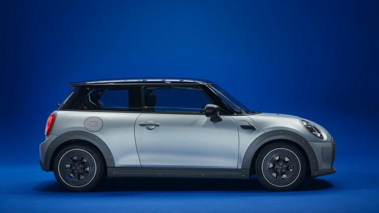 Paul Smith Reveals Custom, Less-Is-More Mini Cooper SE