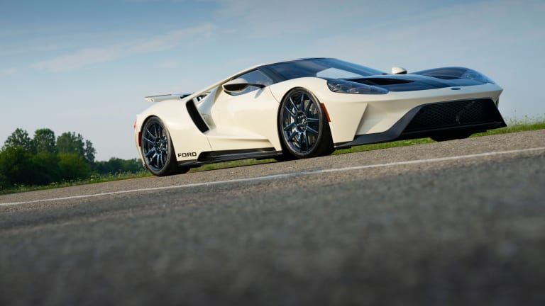 Ford Reveals Heritage Edition GT Inspired by Early Prototype