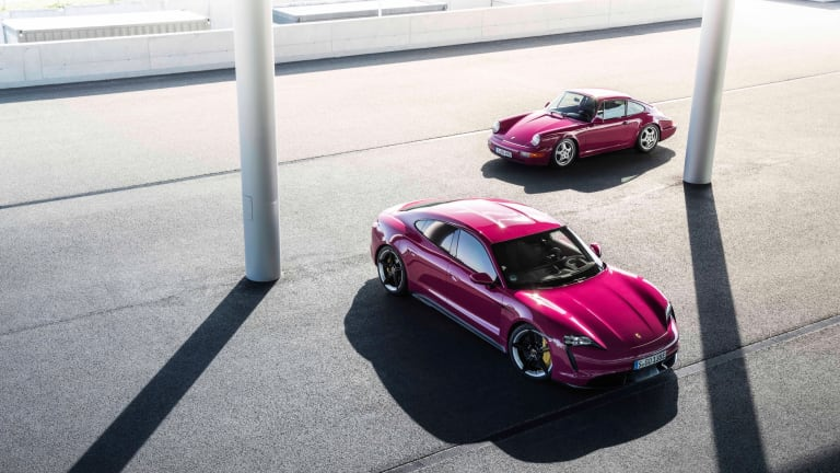 Porsche Updates the Taycan With More Technology, More Range, & More Color