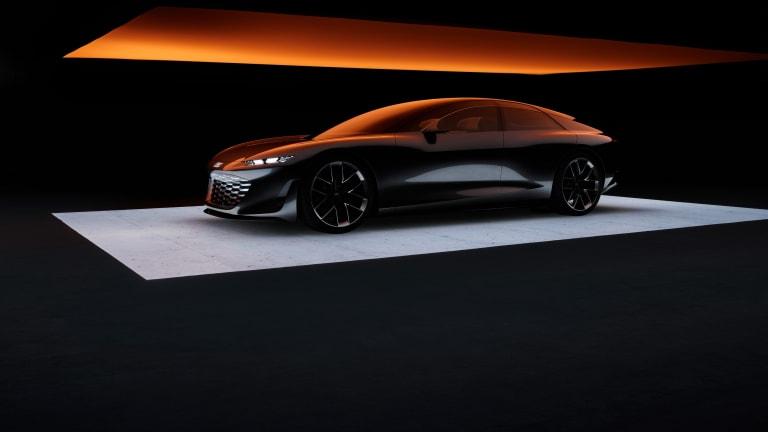 Audi Reveals Eye-Popping Grandsphere Concept Car