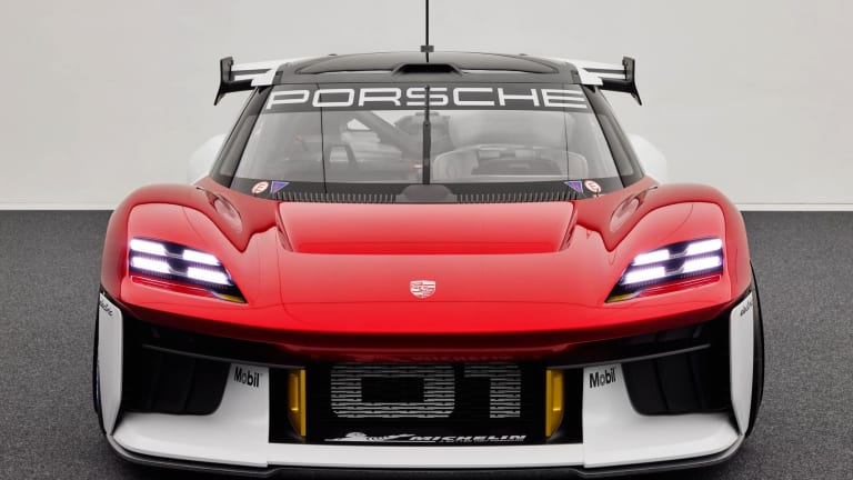 Behold: Porsche Unveils All-Electric Mission R Track Car