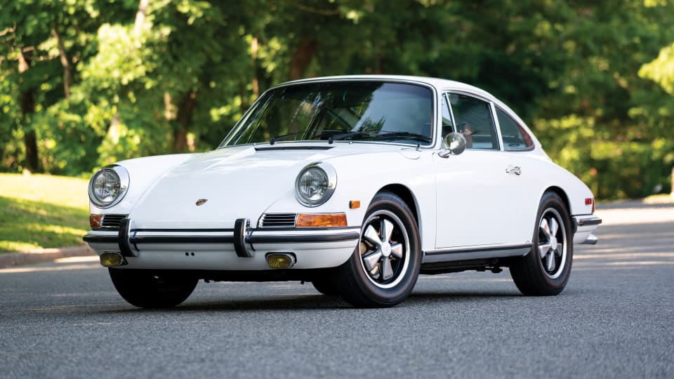 Car Porn: 1968 Porsche 911 L