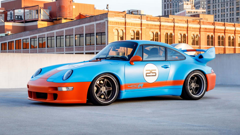 See Scenes From This 'Remastered' Porsche 911's Epic 5,700-Mile Road Trip