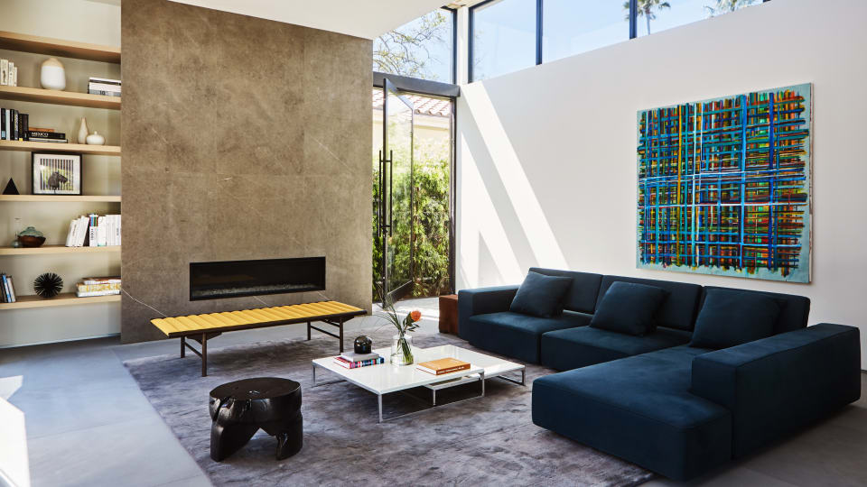 Enjoy the Modern Vibes of This Super-Cool West Hollywood Home