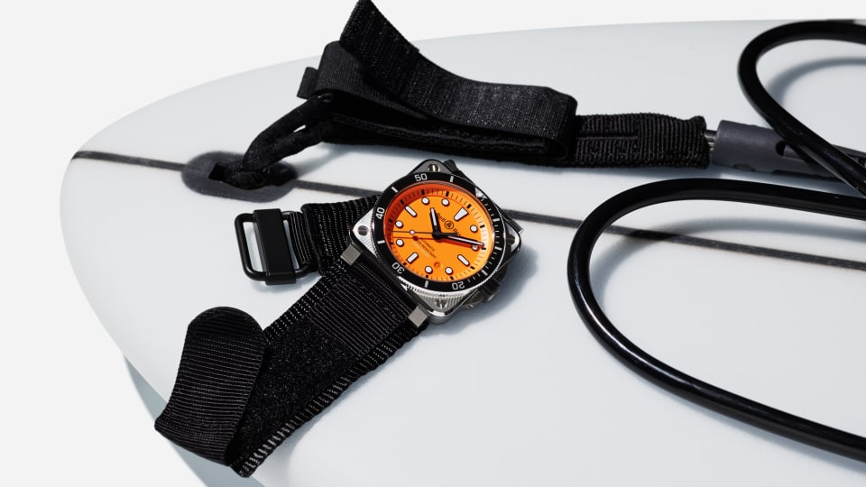 Bell & Ross Impresses With Eye-Popping BR 03-92 Diver Orange