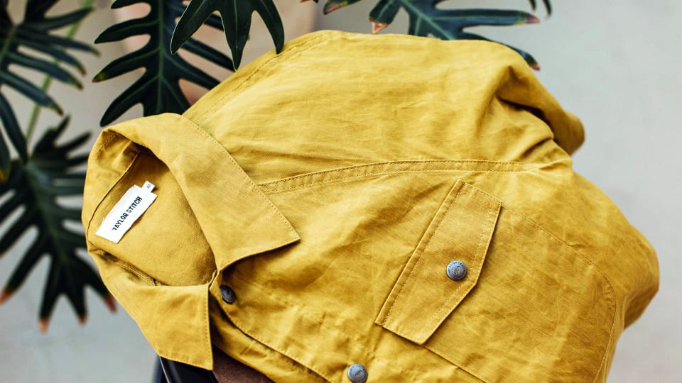 Taylor Stitch's New Waxed Organic Cotton Field Jacket Has Style for Miles