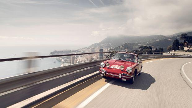 Rally World Champion Walter Ri__hrl drives the Monte-Carlo 911.jpg