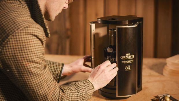 The Glenlivet Winchester Collection Vintage 1966 - Bottle in Cabinet.jpg