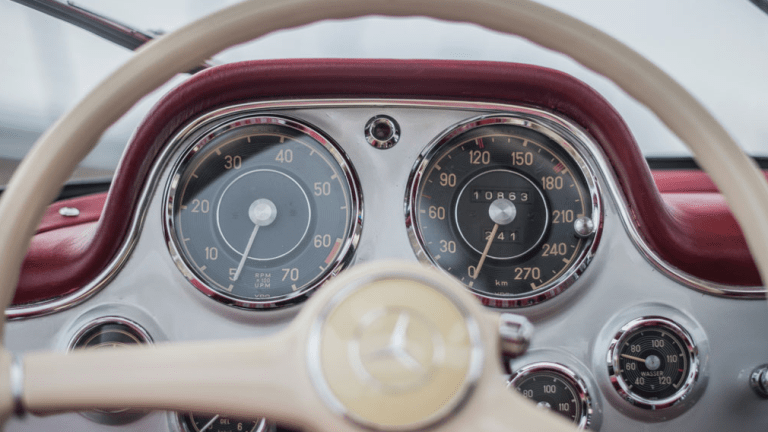 20 Photos Of A '55 Mercedes-Benz 300 SL Gullwing To Get Your Day In Gear