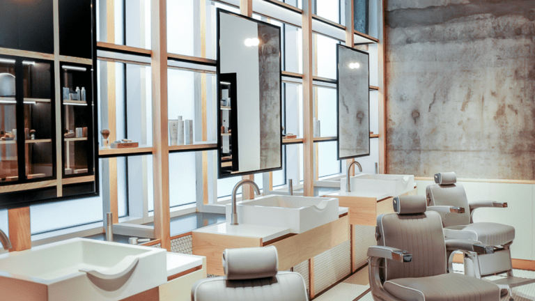 Inside A Perfectly Designed Dubai Barbershop