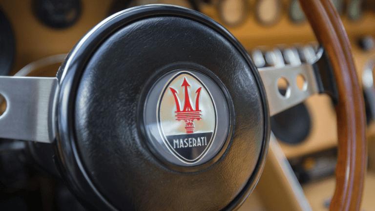 Car Porn: 1972 Maserati Ghibli 4.9 SS Coupe