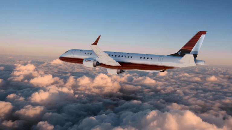 Inside An Ultra-Luxurious Airplane Fit For Kings