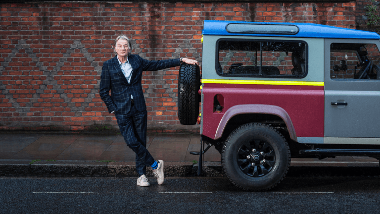 A Closer Look At Sir Paul Smith's Custom Land Rover Defender