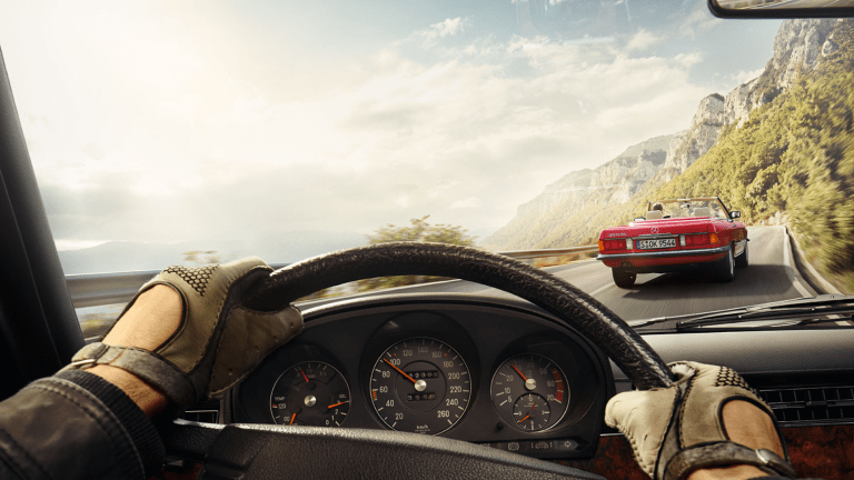 This Travel Deal Let's You Take A Vintage Mercedes-Benz Roadster Through Italy Or France
