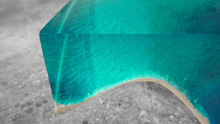 This Mind-Blowing Coffee Table Looks Like A Tropical Sea