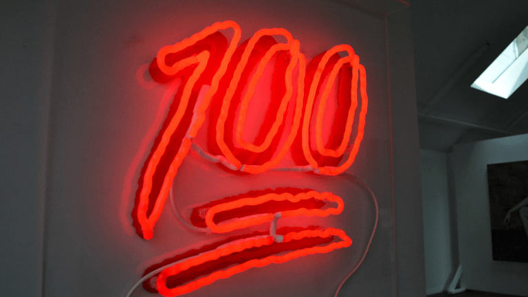 Keep It 100 In Your Bachelor Pad With This Limited Edition Neon Sign