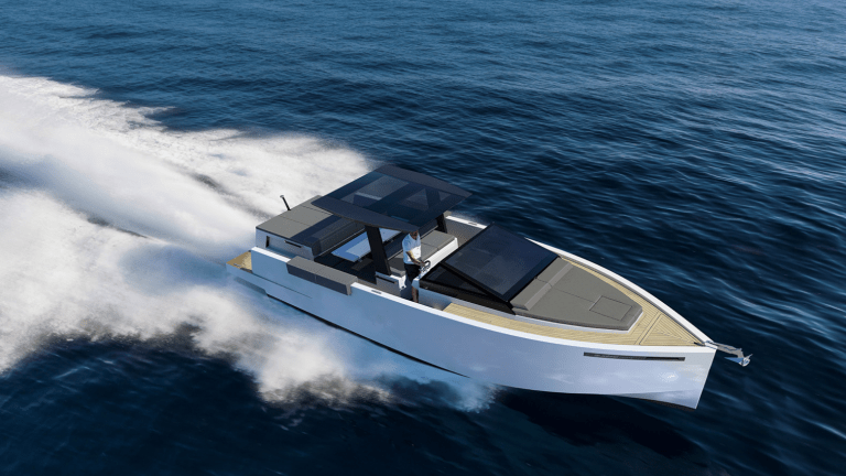 The Sporty D33 Yacht Is The Ultimate Summer Toy