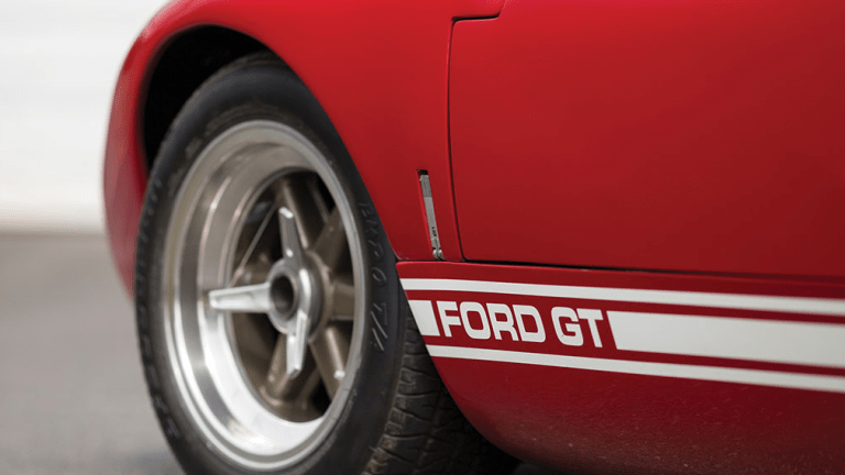 This 1966 Ford GT40 P/1057 Is Flat-Out Stunning