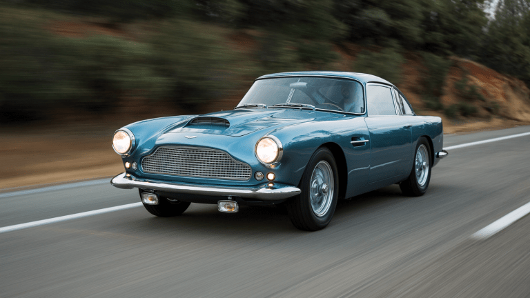 Car Porn: A Heavenly 1961 Aston Martin DB4