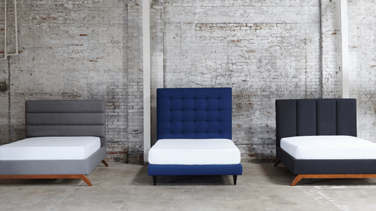 3 Stylish Mid Century Beds That Will Upgrade Any Bachelor Bad
