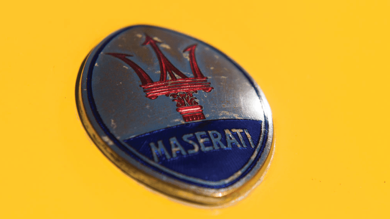 Attention International Playboys - This Vintage Maserati Is The Car You Need To Own