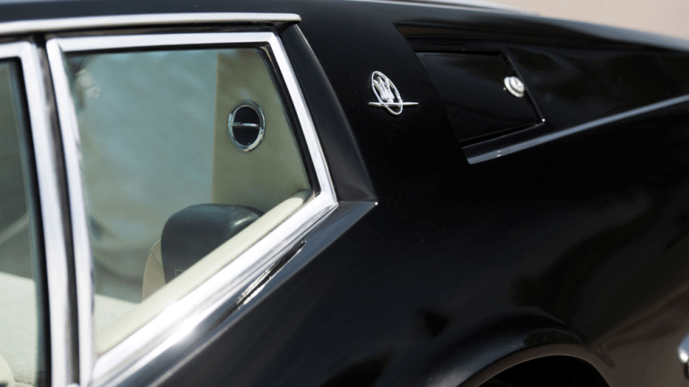 This 1972 Maserati Ghibli SS Is Like A Classy Batmobile