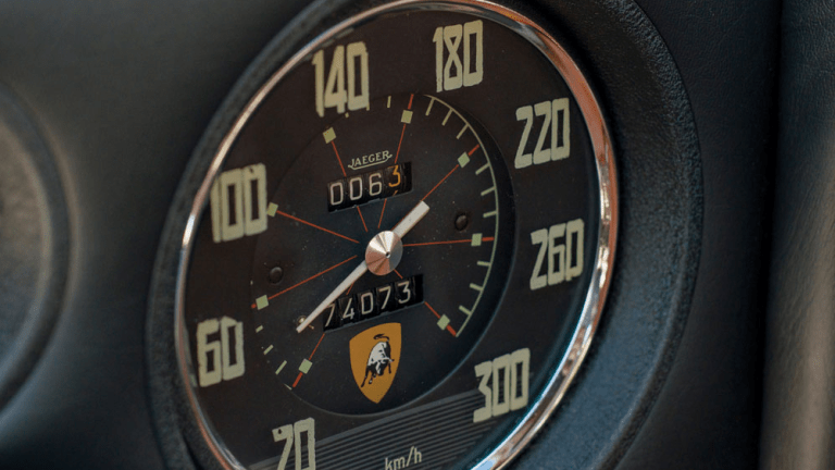 This Stunning 1965 Lamborghini 350 GT Will Make Your Heart Sputter