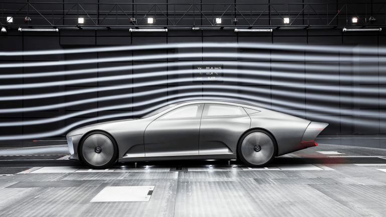 Mercedes-Benz's New Car Transforms When It Hits A Certain Speed