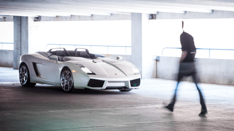 This Lamborghini One-Off Is Being Auctioned Off And It's Basically A Fighter Jet On Wheels
