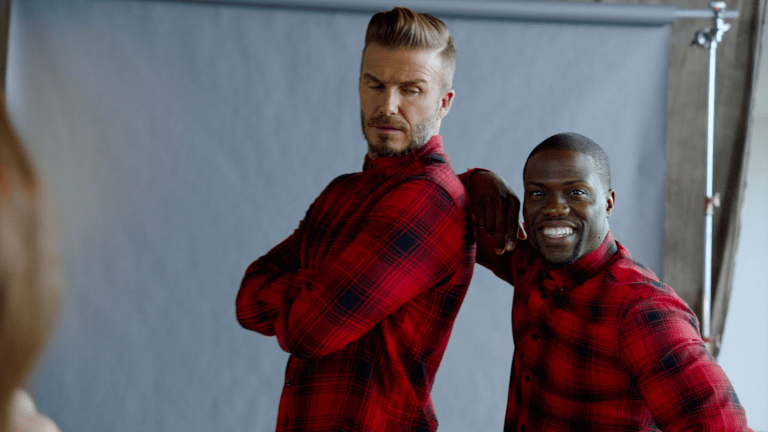 Kevin Hart Trying To Impersonate David Beckham At His Coolest = Hilarious