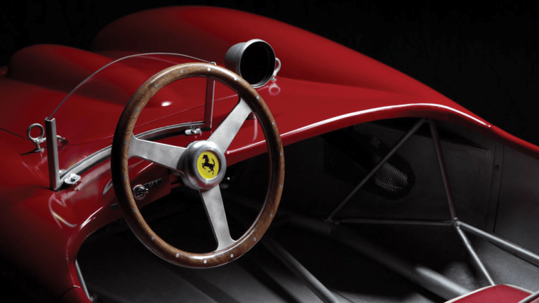 This Child Sized Handbuilt Ferrari Is Pretty Much The Ultimate Toy