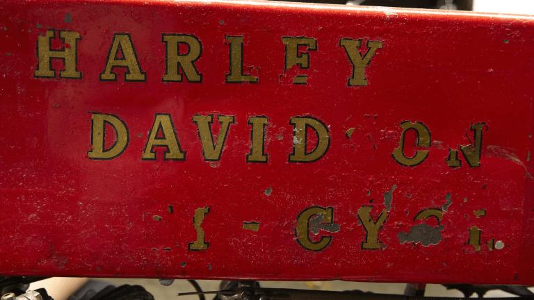 Steve McQueen's 1912 Harley-Davidson Is For Sale