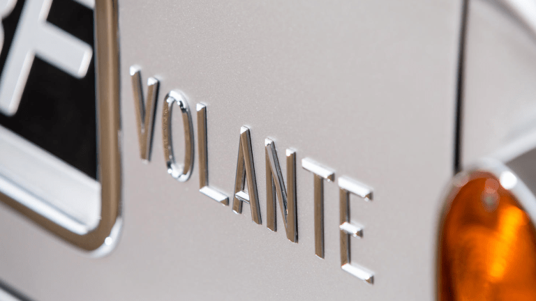 The First Ever Aston Martin 'Volante' Model Is Heading to Auction