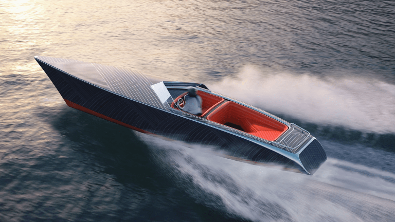 The Zebra Boat Is a Masterpiece for the Seas