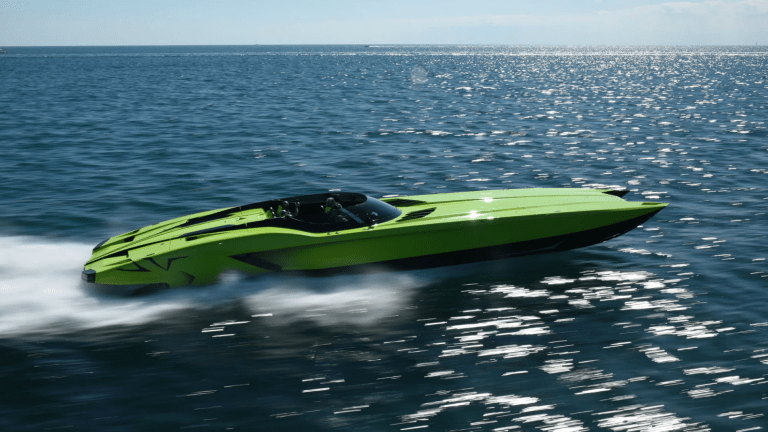 The $2.2 Million Lamborghini Speedboat Is Beautifully Eccentric