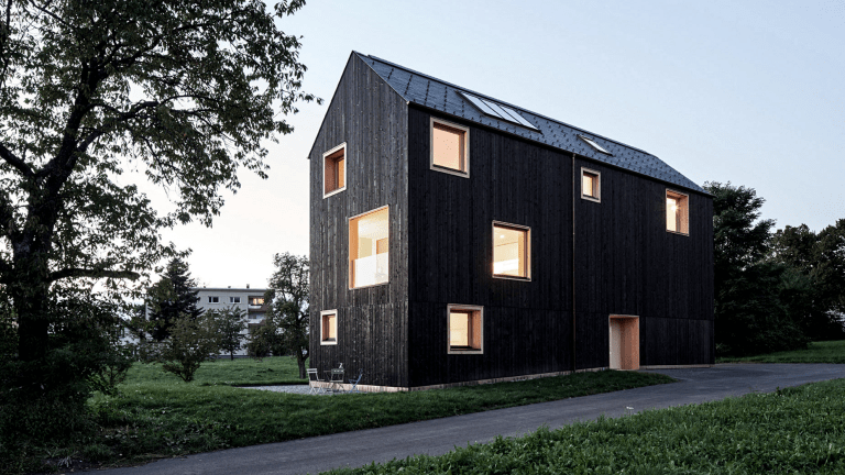 This All-Black Timber Farmhouse Is Stunning