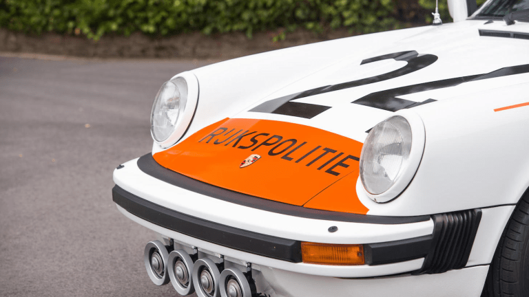 Dutch Cops Used to Fight Crime With Porsches