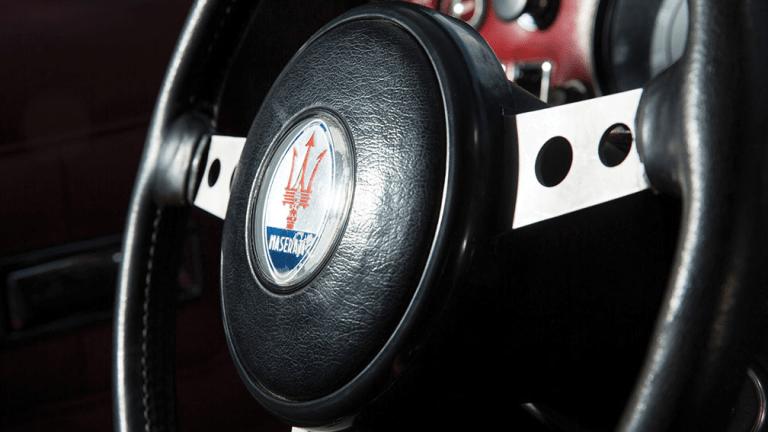 Batman's Vintage Maserati