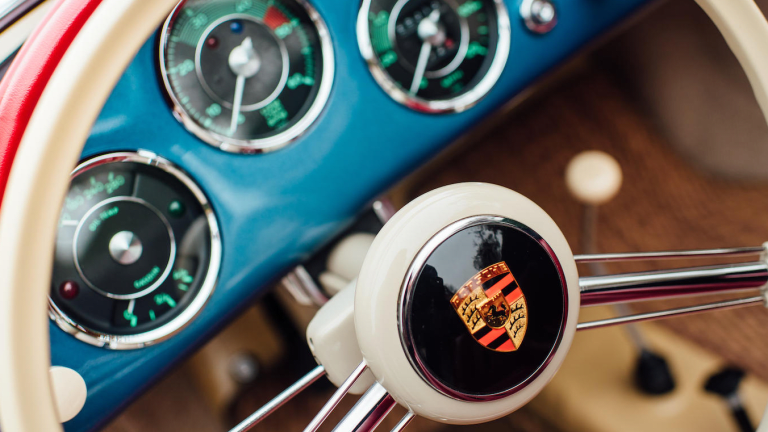 This 1956 Porsche 356A 1600 Speedster Couldn't Be More Photogenic