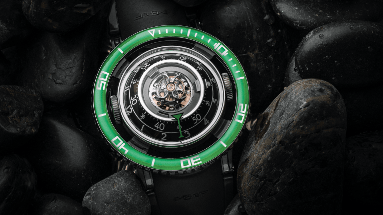 MB&F's $110,000 Aquapod Watch is a Sci-Fi Submariner on Steroids