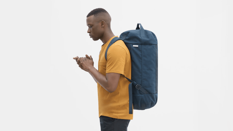 Everlane's New Bag Has Backpack Portability With Duffel Packability