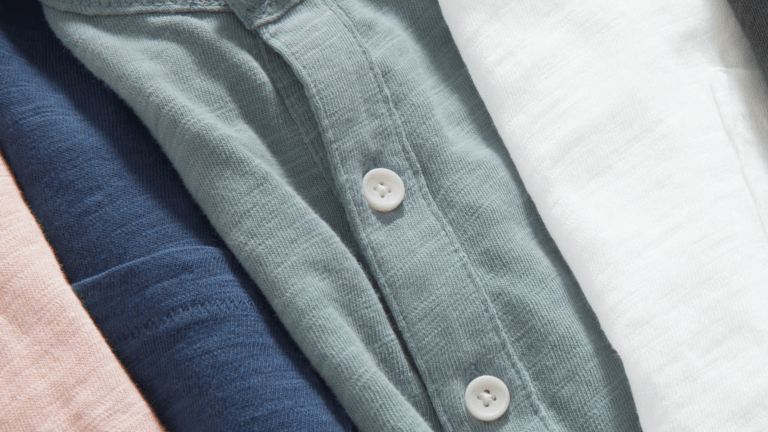 These Sun-Faded Henleys Looks as Good as They Feel