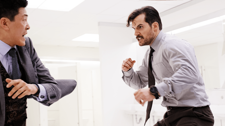 Breaking Down the 'Mission: Impossible - Fallout' Bathroom Fight With Christopher McQuarrie