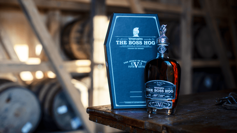 WhistlePig's New $500 Boss Hog V is Barrel Proof Rye for Serious Sippers