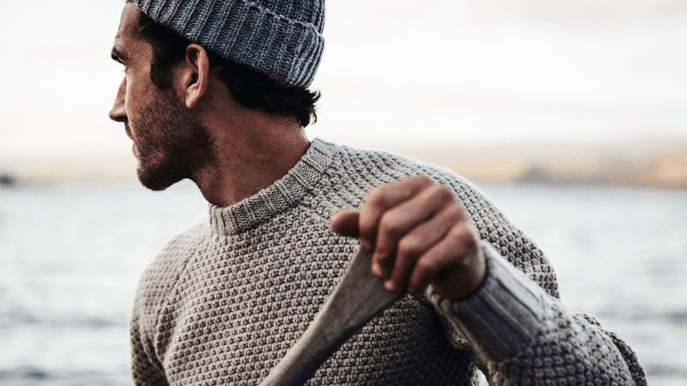 This Wool Sweater Is for Style-Conscious Seafarers