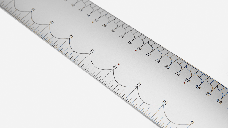 This Designer Ruler Is Glorious Overkill